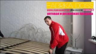 Кованая кровать от фабрики досс лот № 255 www.fabrikadoss.ru(, 2014-04-03T15:18:28.000Z)