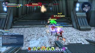 Dc universe online Hard light dps TA/S2N vs Clan Italia