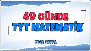 BAŞLIYOR  49 GÜNDE TYT MATEMATİK   Rehber Matematik