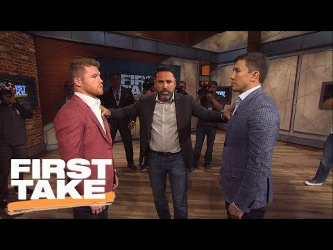 Canelo, GGG And Oscar De La Hoya Join First Take | First Take | June 21, 2017