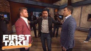 Canelo, GGG And Oscar De La Hoya Join First Take | First Take | June 21, 2017 thumbnail