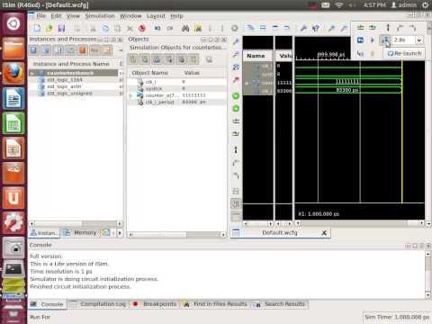SImple Counter using FPGA
