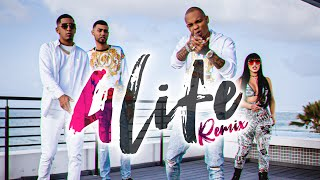 Anonimus. Pusho, Jay Wheeler & Queen Rowsy - 4 Life Remix (Video Oficial)