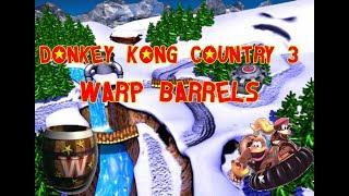 DONKEY KONG COUNTRY 3  AONDE FICAM TODOS OS WARPS?