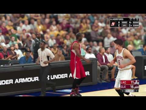NBA Nation - Cleveland Cavaliers vs Los Angeles Clippers (NBA 2k17)