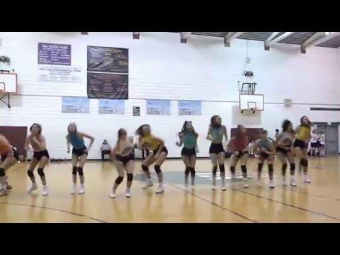 Pistol Shrimps Halftime Performance LA City Municipal Dance Squad 12616