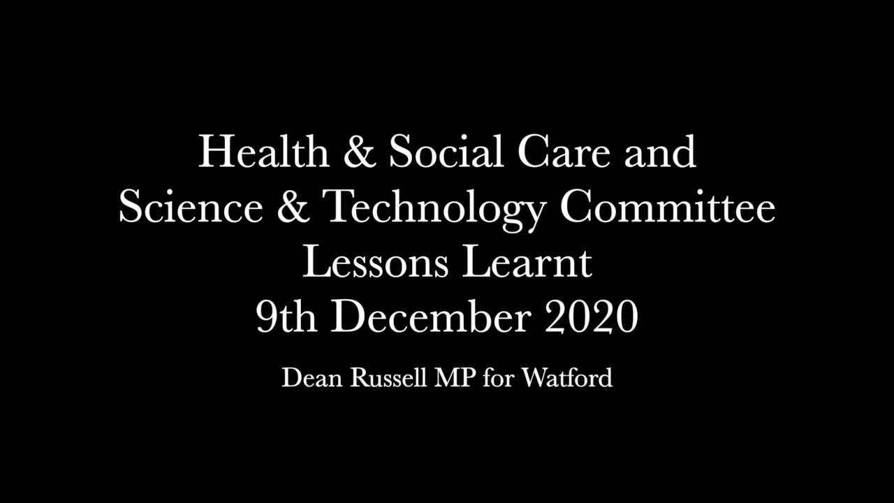 Health & Social Care Committee: Sir Patrick Vallance and Professor Chris Whitty on vaccine rollout