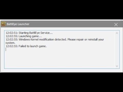 🚩 Windows Kernel modification detected