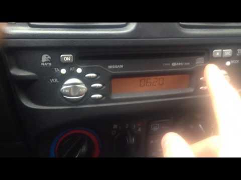 Код магнитолы Nissan Almera N16