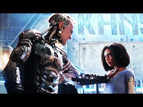 Alita: Battle Angel Trailer 2018 Movie - Official