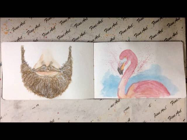 My Moleskine Watercolor Album