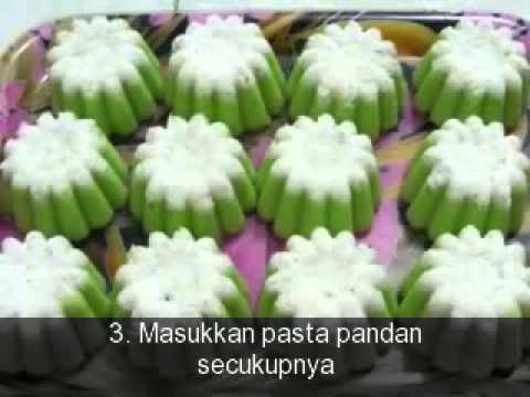 Cara Membuat Kue Putu Ayu 360p - YouTube