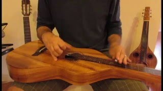 Matthew Nigro   Original Tune in DGDGGD on this Hawaiian Lap Steel