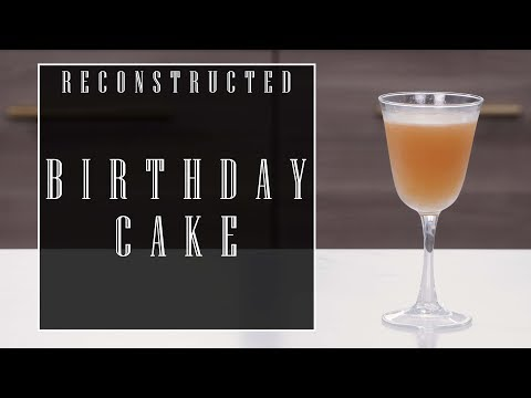 Reconstructed: Birthday Cake Cocktail with Chris Day