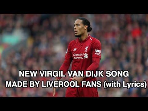 New Virgil Van Dijk Song By Liverpool Fans (With Lyrics)