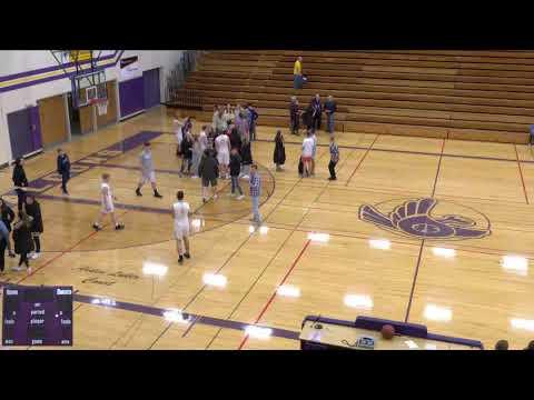 Sheboygan Falls vs. Valders High School Varsity Mens' Basketball