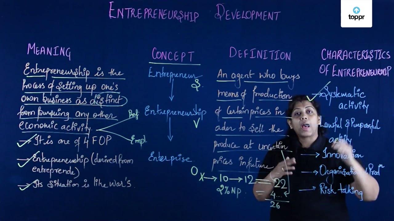 Benefits of Entrepreneurship: Economic Development & Questions