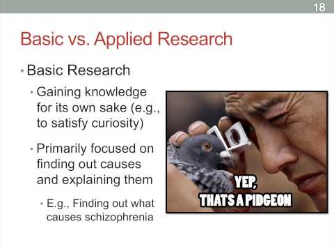 basic versus applied research Research funds are increasingly being invested with an expectation of a more practical return than just contributing to the body of knowledge on a specific topic there is no doubt that basic research enhances foundational knowledge and provides a more data-rich platform for applied research to build on,.