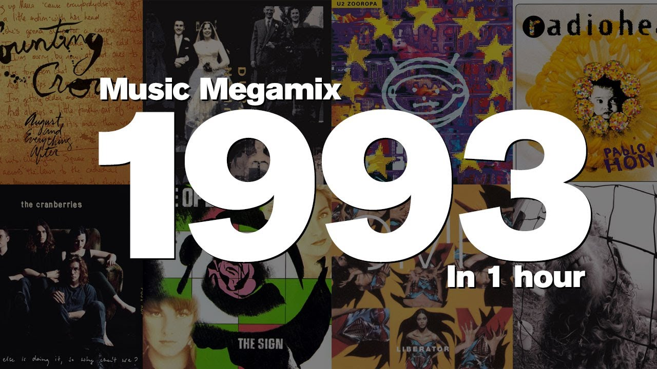 Download 1993 in 1 Hour - Top hits including: Counting Crows, Duran Duran, U2, The Cranberries and many more!