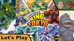 King of Tokyo - Cthulhu vs. King Kong - Brettspiel - Let's Play mit Gewinnspiel