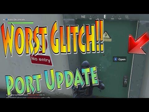 MOST Annoying Glitch In The Port A Fort Update | Fortnite 3.5 Replay Update Glitch Xbox
