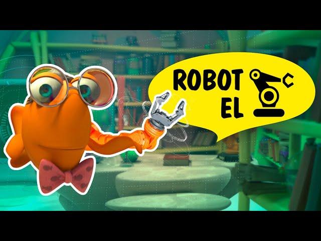 Profesör Balık ile Deneyler: Robot El