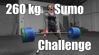 260 kg Sumo Kreuzheben | Challenge - Johannes Kwella