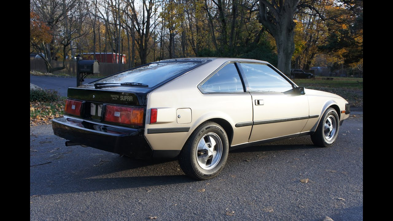 Sold 1982 Toyota Supra For Sale Automatic Low Miles