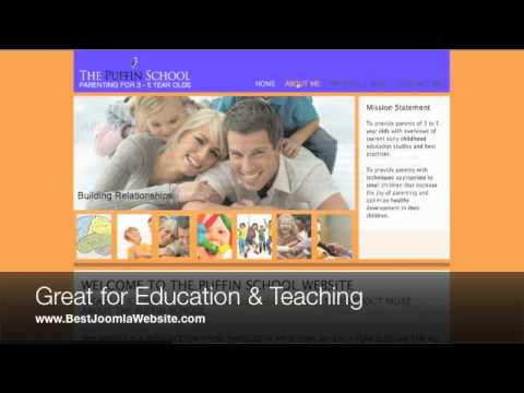 Best Joomla Websites - Education Templates