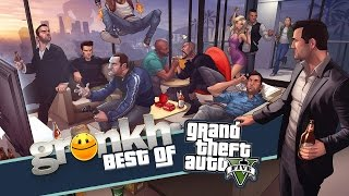 BEST OF - FUNNY MOMENTS | GTA ONLINE #001 - #132 | Gronkh | Sarazar + ★ [HD+]