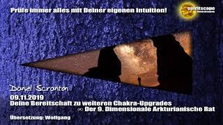 Deine Bereitschaft zu weiteren Chakra-Upgrades ∞ Der 9D. Arkturianische Rat