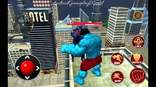 Monster super hero superhero city robots battle 3d Android Gameplay