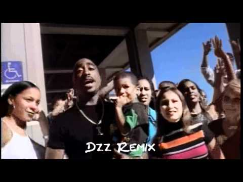 2Pac - To Live and Die in LA (Dzz G-Funk Remix) Video HD