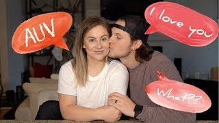 is it too early to say i love you? | shawn johnson + andrew east