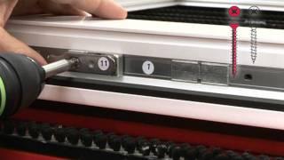 Монтаж фурнитуры ROTO NT(Фурнитурная обвязка ПВХ окна без использования станков и гильотины ROTO NT., 2011-09-06T07:45:36.000Z)