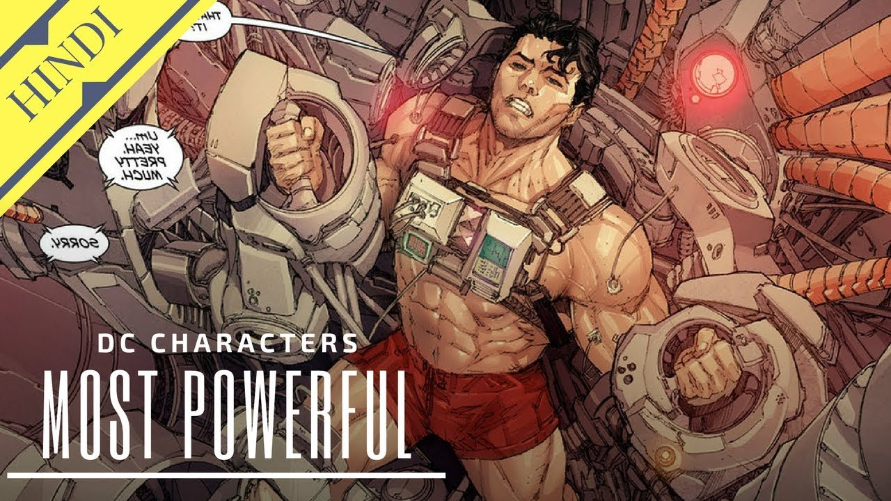15 Most Powerful DC Character   Explained in Hindi