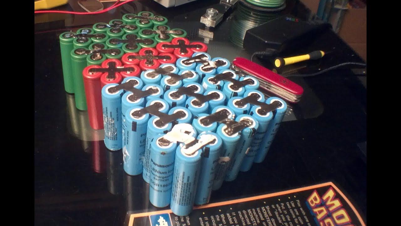 E Bike Battery Wiring Diagram Land Rover Colours Diy 48v 24ah Lithium Ion 18650 Pack