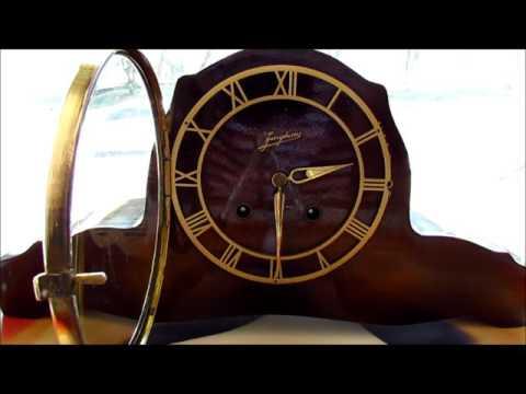 Junghans Kaminuhr Mantel Clock