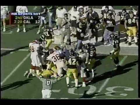 Oklahoma Sooners at California Golden Bears - 1997 - Football