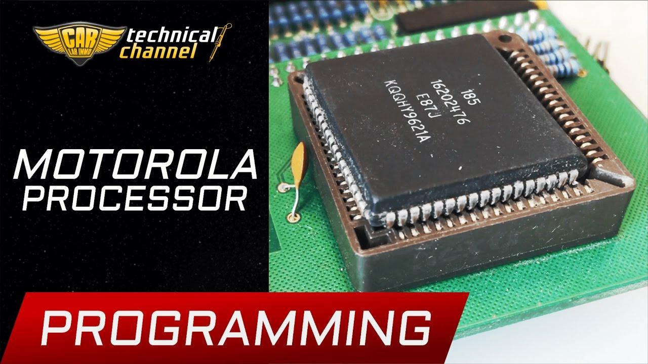 Motorola Processor Programming