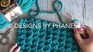 Crochet Even Moss Stitch Tutorial