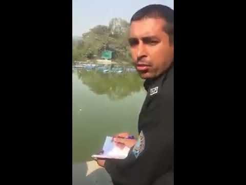 Real Man Spotted | delhi advocate vs haryana police | Save lovers in park
