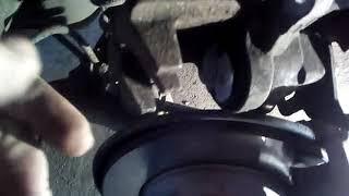 ремонт ручника заднего суппорта на Джили Эмгранд ЕС-7