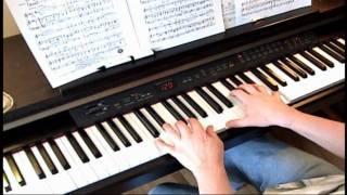 Beyond the Sea - Finding Nemo - Piano