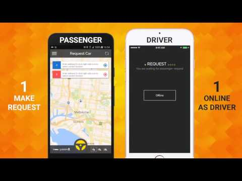 Uber like - Social Taxi App Source Code For Sale - The Best App HiCom Solutions