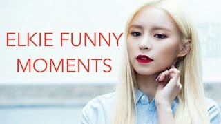 Elkie (엘키) from CLC (씨엘씨) - Funny Moments [PART 1]