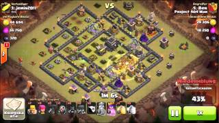 Clash of Clans - Th9 Gohowiwi 3 Star Attack by Ben