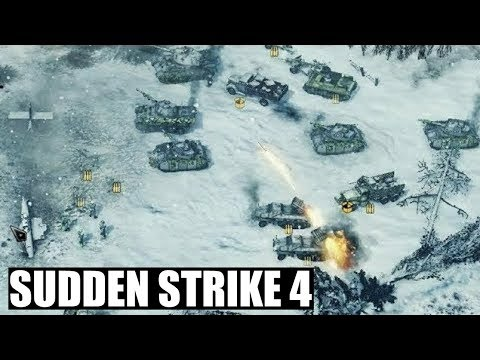 Sudden Strike 4 German Campaign 'Battle of the Bulge'