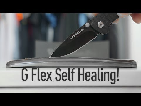 MKBHD knifes the G Flex, heals it with a little body heat
