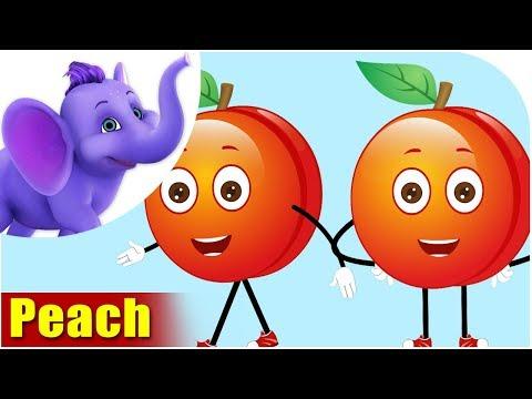Peach Fruit Rhyme in Marathi